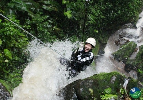 Costa Rica Waterfall Rappelling Experience
