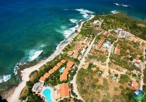 Playa Langosta Aerial View