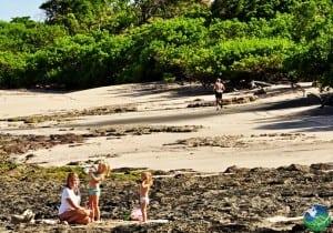 Familiy at Langosta Beach