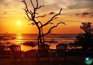 Sunset at Langosta Beach