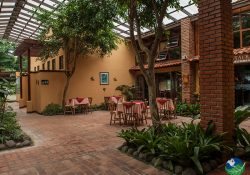 Arenal Volcano Lodge Eating Area