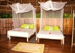 bungalow de dos camas