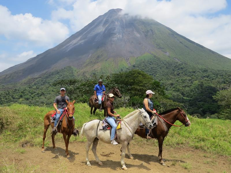 Arenal to Monteverde Volcano View