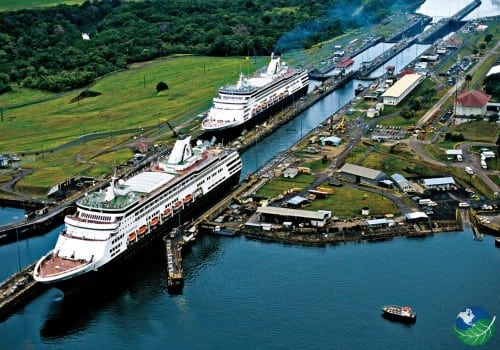 Panama Canal Rush Hour