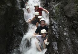 Arenal Canyoning Cooling Off in the Water