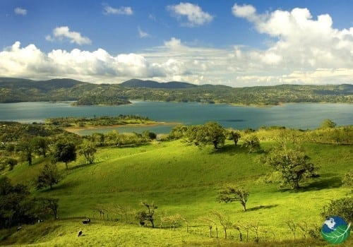 land in Costa Rica. lake Arenal