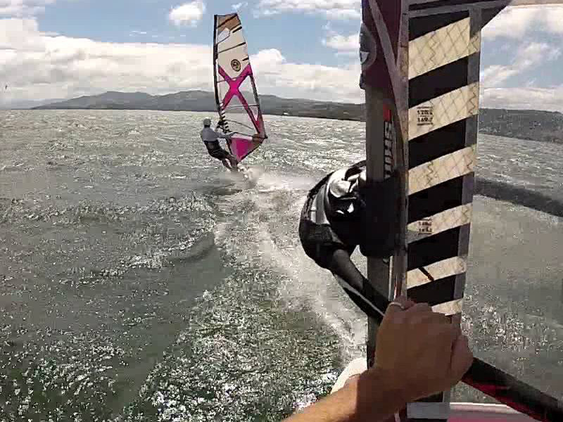Lake Arenal Windsurfing With Friends