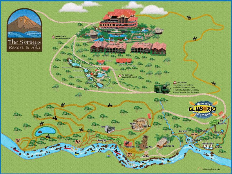 Mapa de Club Rio