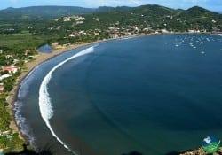 San Juan Del Sur Air View