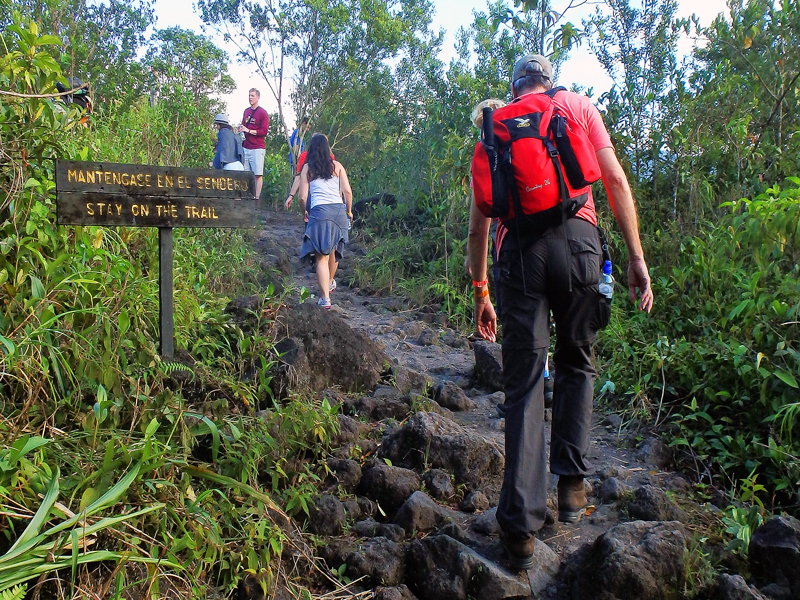 Arenal Volcano Hike, Excursionismo