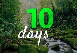10 days in Costa Rica