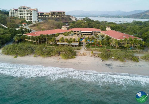 Flamingo Beach Resort Aerial View