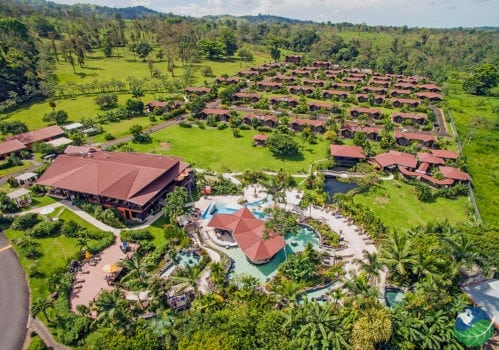 Arenal Springs Aerial View