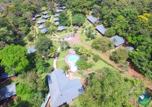 Chachagua Rainforest Hotel Aerial View