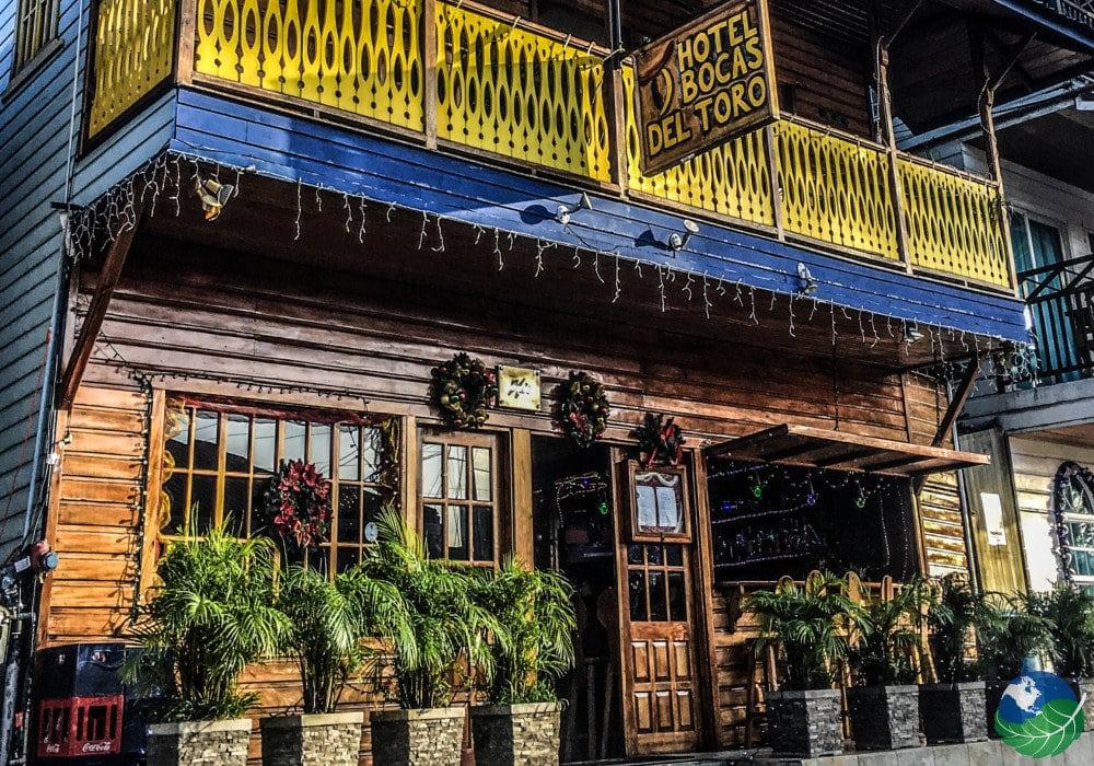 Hotel Bocas Del Toro Entrance