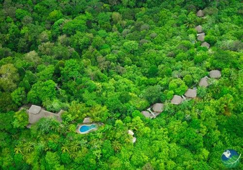 Lapa Rios Aerial View