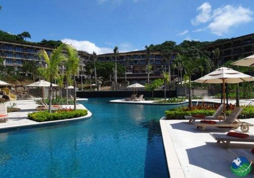 Dreams Las Mareas Pool and Exterior