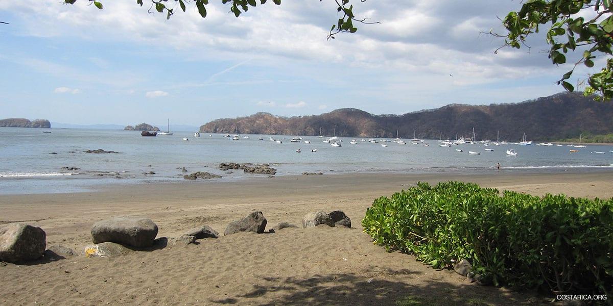 Playas del Coco - Beach in Gulf of Papagayo, Costa Rica