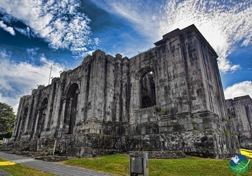 Old Church ruins in Cartago