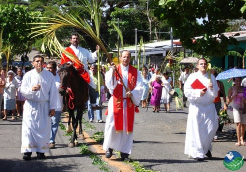 Holy week in Costa Rica