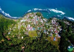 Port Limon from Above