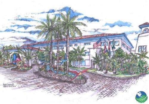 Margaritaville Beach Resort Entrance